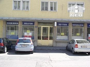 Aluminiumfenster Geschäftslokal Abstellplätze - 50m² Büro/Geschäftslokal - Gabelsbergerstrasse
