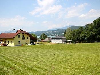 Sonniger Baugrund mit Seeblick in Schiefling/Auen