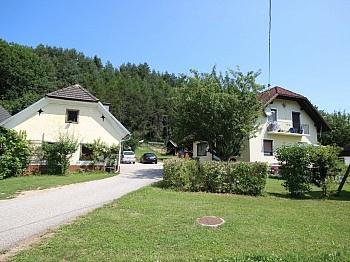 Miklautzhof teilsaniert Gastherme - Kleine Landwirtschaft mit 1,05 Hektar-Sittersdorf