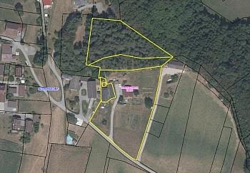 Wasser Keller ruhige - Kleine Landwirtschaft mit 1,05 Hektar-Sittersdorf