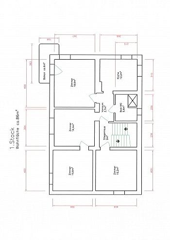 Neue Raum Wohn - Schönes Zweifamilienwohnhaus 170m² - Waidmannsdorf