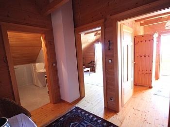 Waschmaschine ausgerichtet Rauschelesee - Wunderschönes Holzblockhaus Maria Rain/Toppelsdorf