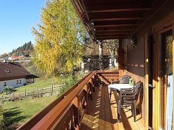 Idyllische zuzüglich erreichbar - Wunderschönes Holzblockhaus Maria Rain/Toppelsdorf