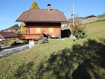 möblierte Badewanne Vorraum - Wunderschönes Holzblockhaus Maria Rain/Toppelsdorf
