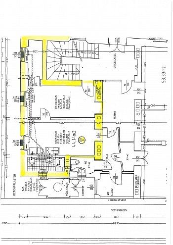 sofort Jahre Nähe - Schöne 2 Zi - 44m² Stadtwohnung - Nähe Dorotheum