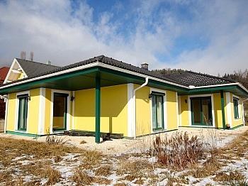 Wohnzimmer Bungalow Terrasse - Neuwertiger Bungalow in Aussichtslage/Guttaring