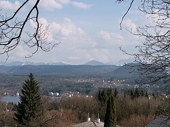 Panoramablick Göriach abbiegen - Velden/Göriach Baugrundstück mit Panoramablick