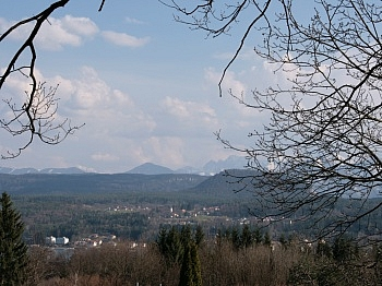 Veldner Zentrum Karawankenpromenade - Velden/Göriach Baugrundstück mit Panoramablick