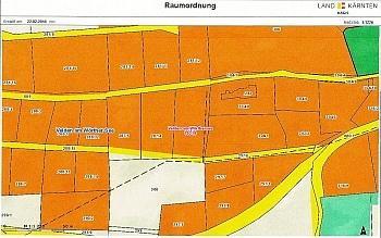 durchgehend Landstraße Wohngebiet - Velden/Göriach Baugrundstück mit Panoramablick