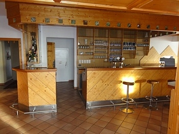 traumhafter Westerrasse Brennstoffe - Hotel-/Restaurant in Lavamünd mit Traumaussicht