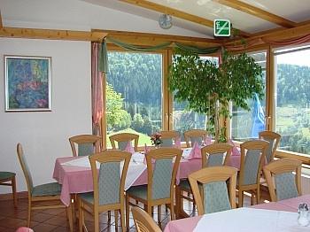Doppelbettzimmer Dienstwohnungen Betriebskosten - Hotel-/Restaurant in Lavamünd mit Traumaussicht