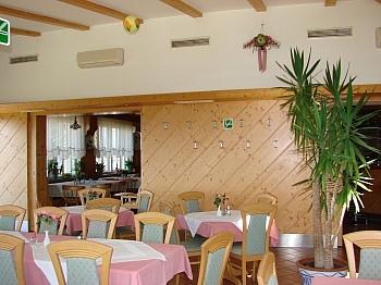 Westterrasse gemeinsamen Brennstoffe - Hotel-/Restaurant in Lavamünd mit Traumaussicht
