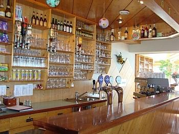 Wasserkosten Westterrasse Parkflächen - Hotel-/Restaurant in Lavamünd mit Traumaussicht