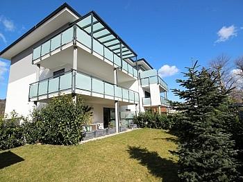 Bauträger Verglasung Verwaltung - Neue 3 Zi Gartenwohnung in Krumpendorf - Seenähe