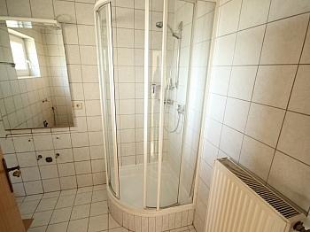 Duschen mittels Heizung - 3 Zi Gartenwohnung mit 475m² Grund in Klagenfurt