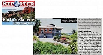 teilweise Ruheoasen nördlich - Eine der schönsten Villen von Portorož