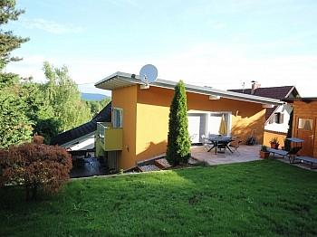angelegte gepflegte Terrassen - Viktring unverbaubarer Blick auf Klagenfurt