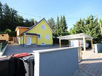 Terrasse Toilette Fenster - Viktring unverbaubarer Blick auf Klagenfurt