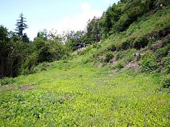 Bebauungsplan unmittelbarer durchgehend - Baugrundstück mit Seeblick in Sekull/Techelsberg