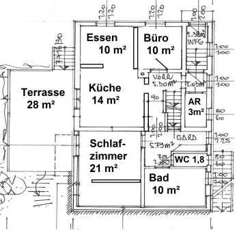 komplett Wohnhaus Absolute - Viktring unverbaubarer Blick auf Klagenfurt