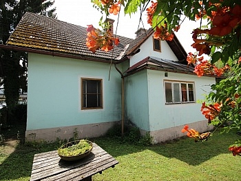 Wohnhaus Pischeldorfer Nebengebäude - 988m² Baugrund mit älterem Wohnhaus - Welzenegg