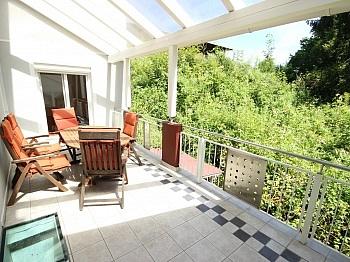 große teilw Wintergarten - Tolle 3 Zi Terrassenwhg. 102m² Keutschach-Reauz
