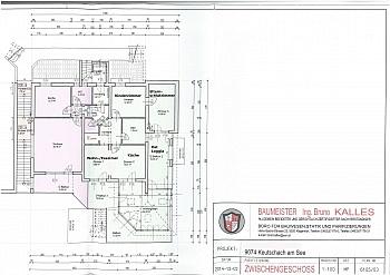 Freien Garage Option - Tolle 3 Zi Terrassenwhg. 102m² Keutschach-Reauz