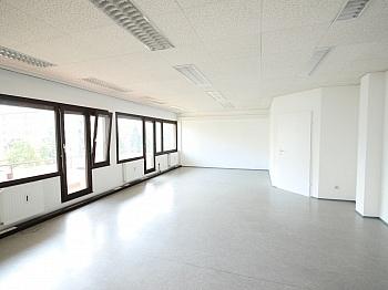 Möblierte teilweilse rauchfreie - TOP Büros 105m² bis 256m² in Klagenfurt