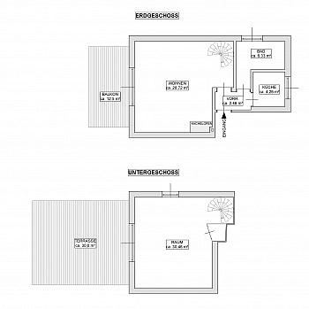 erhöhter bewohnbar Esszimmer - 2-Zi-Wohnung mit atemberaubendem Wörtherseeblick