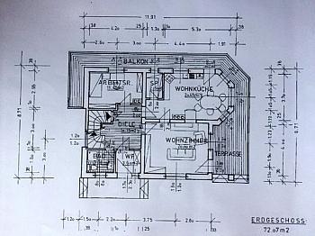 Zustand Wohnung Bindung - Idyllisches Wohnhaus mit Wörtherseeblick/Reifnitz