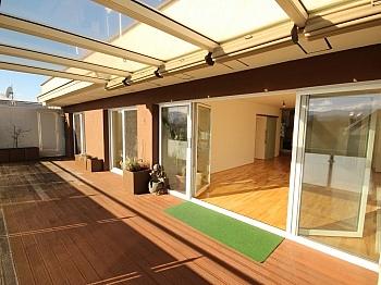 Terrasse großes Fenster - Traumhafte neue 113m² 4 Zi Penthouse - XL Terrasse