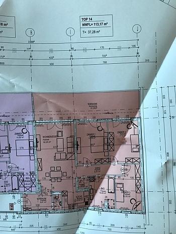 ruhige direkt Küche - Traumhafte neue 113m² 4 Zi Penthouse - XL Terrasse