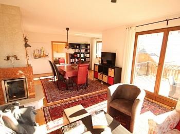 Badewanne Kaminofen Esszimmer - Tolles 140m² Wohnhaus in Maria Rain - 2434m² Grund