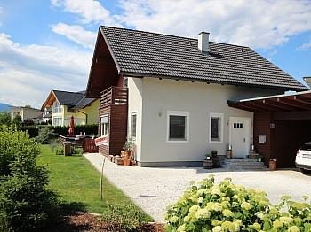 Flächenkollektoren Carportstellplätze Elternschlafzimmer - Neuwertiges tolles 128m² Wohnhaus in Feldkirchen