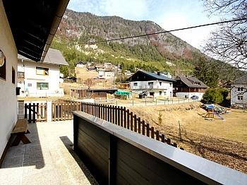 Küche Garten Kanal - Idyllisches Wohnhaus in Bleiberg-Kreuth