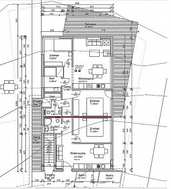 - Turrach Erstbezug 2 Wohnungen 1x 50m² 1x 40m²