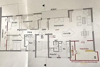 zentrale Infrarot Vorraum - Stylische Penthouse-Whg. in Ratzendorf/Maria Saal