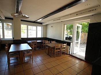konkurrenzfrei Sonnenterrasse Fliesenböden - Restaurant in perfekter Lage Viktring-Edelstein