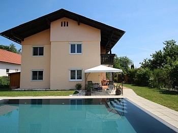 große Neue Pool - 230m² Zweifamilienhaus mit Pool in Köttmannsdorf