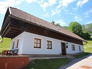 Vollmöbliert Schlafzimmer Ferienhaus - Schönes saniertes 110m² Ferienhaus im Bodental