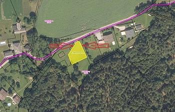 Bauland Tretram Strasse - 900m² Grund mit Aussicht in Köttmannsdorf-Tretram
