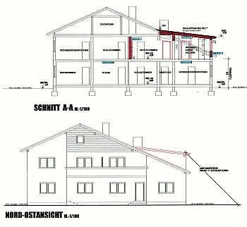 Treuhändische Baubewilligtes Betriebskosten - Wohnanlage mit 4 Wohnungen Nähe Keutschacher See
