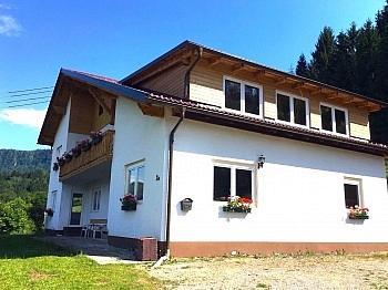 Obergeschoss Keutschacher Kellerabteil - Wohnanlage mit 4 Wohnungen Nähe Keutschacher See