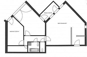 - Zentrale 3-Zi-Wohnung in Feschnig/LKH Nähe