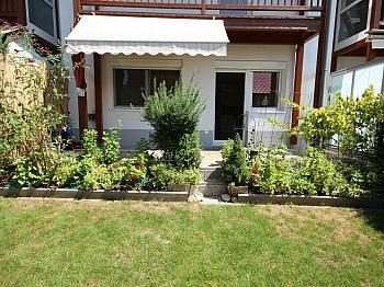 Gartenwohnung Westterrasse Eigengarten - Junge 50m² 2 Zi Gartenwohnung am Stadtrand