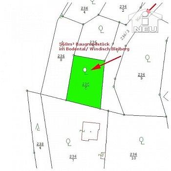 Gemeinde Hanglage gewidmet - Super günstiger Baugrund im Bodental € 12.000,--