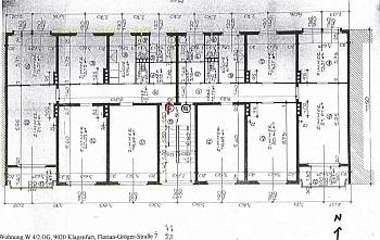 Plan neue Dach - 5 Zi Stadtwohnung 117m² Nähe Messe - zum sanieren