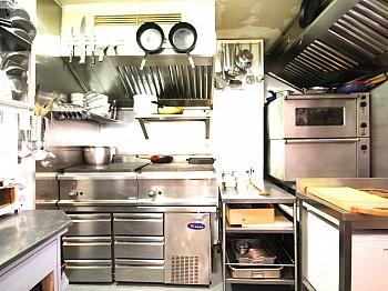 Terrasse getrennt verglast - Schöner Gastronomiebetrieb in perfekter Lage