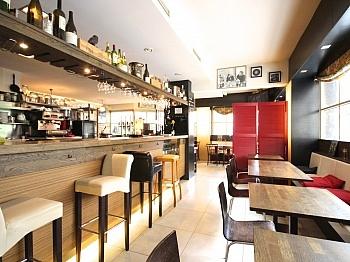 Sitzplätzen getrennte Gastraum - Schöner Gastronomiebetrieb in perfekter Lage