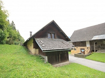 Fliesenböden angeschlossen Ausbaufähig - Altes Bauernhaus für Aussteiger oder Urlauber